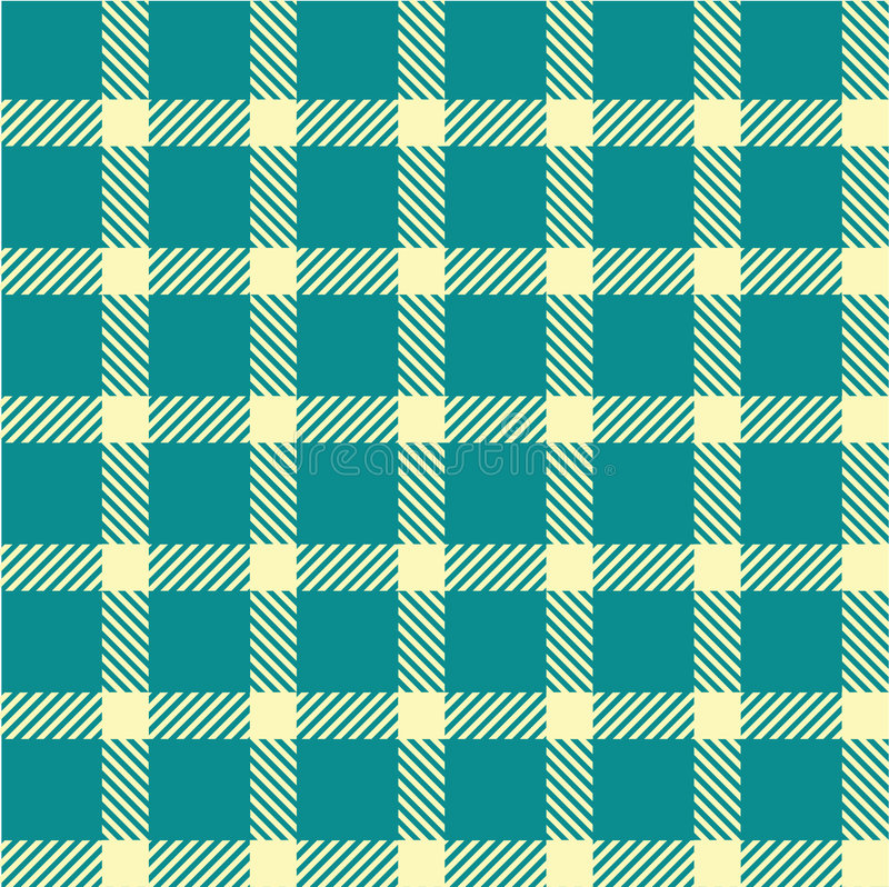 Plaid texture, seamless pattern vector illustration
