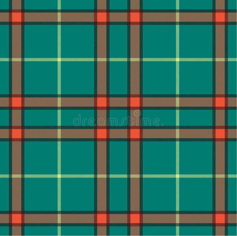 Plaid texture, seamless pattern royalty free illustration