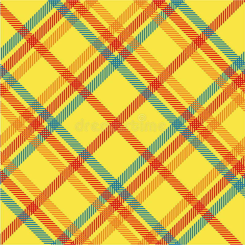 Plaid texture, vector pattern royalty free illustration