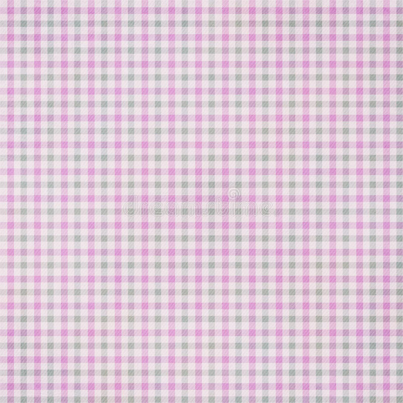 Plaid textured Fabric Background stock photo
