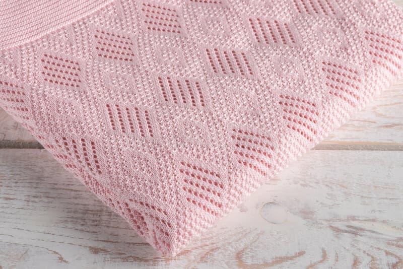Plaid tricoté photographie stock