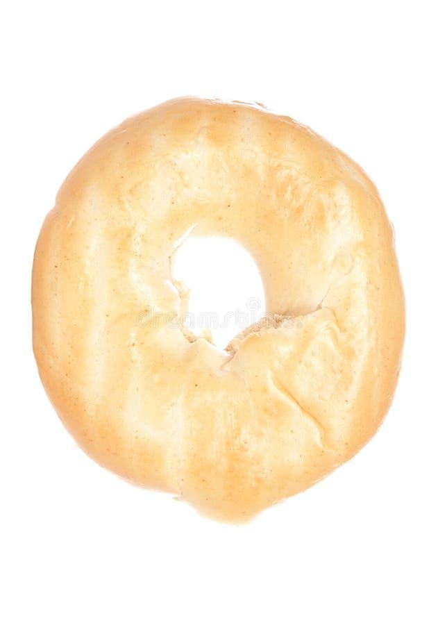 Plain bagel royalty free stock images