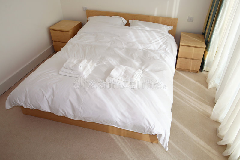 Plain Bedroom Royalty Free Stock Photos
