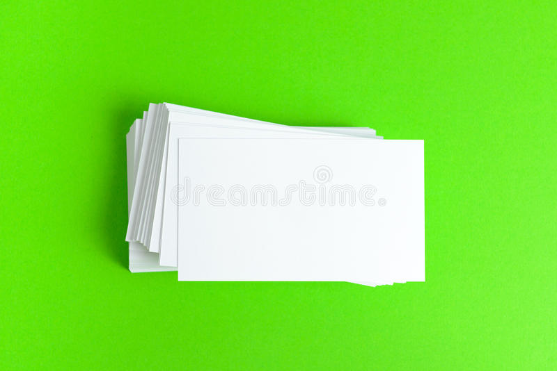 Download Plain Business Card Stock Photo - Image: 42502431