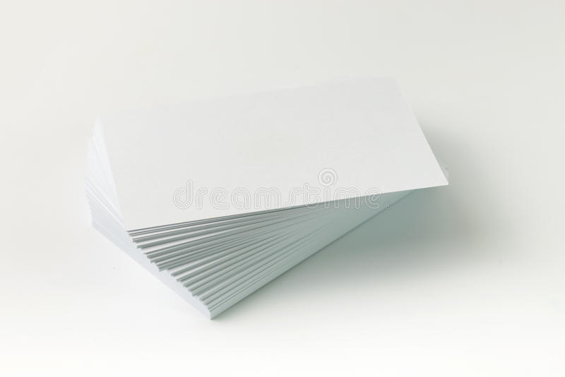 Download Plain business card stock photo. Image of marketing, note - 42502214