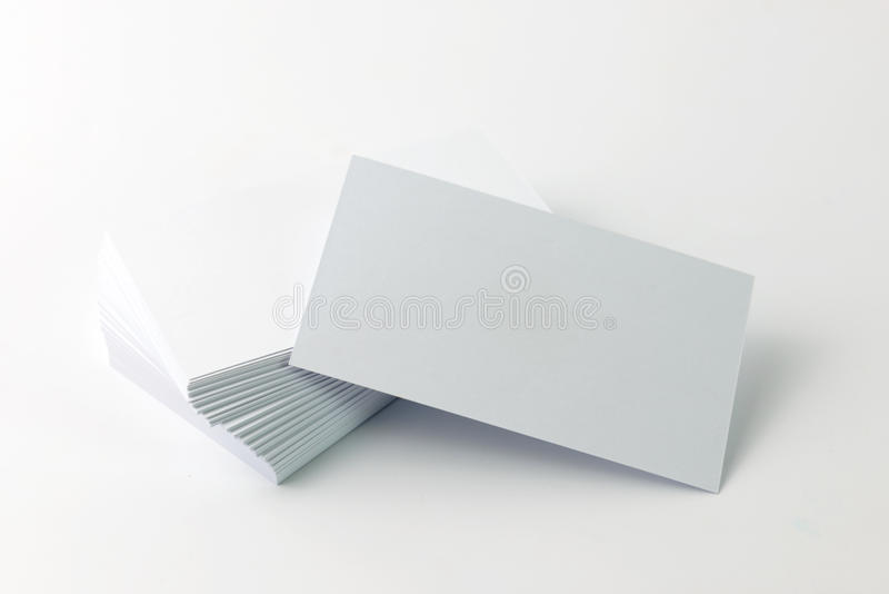 Download Plain business card stock image. Image of pile, path - 42502257