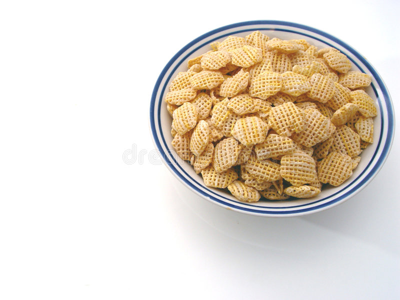 Plain Cereal royalty free stock image