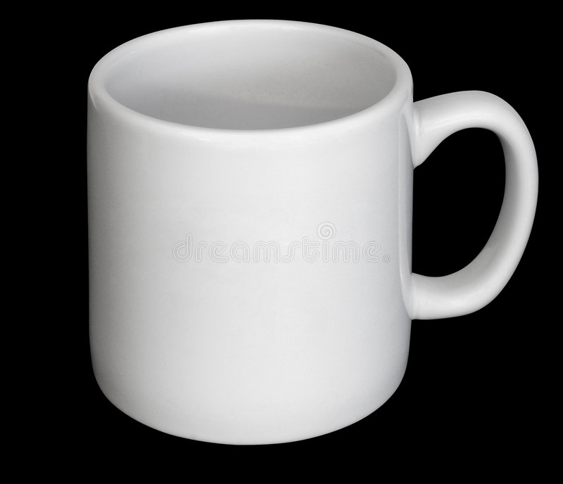 Plain cup royalty free stock image