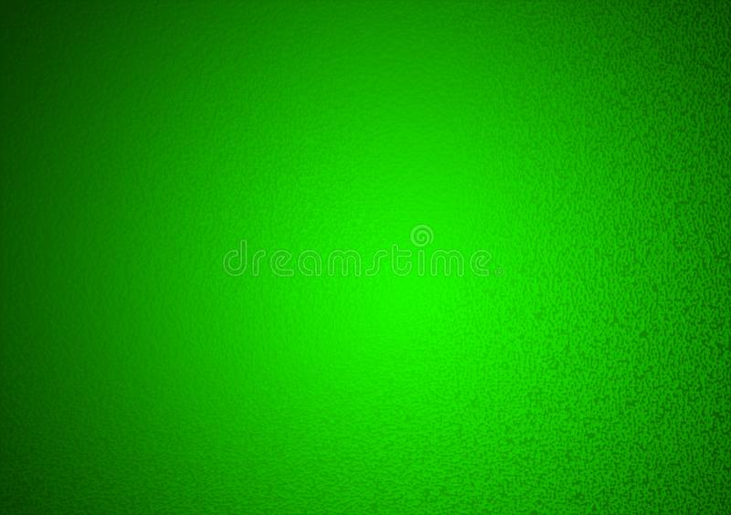 Plain green textured gradient background royalty free stock image