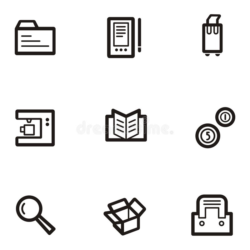 Download Plain Icon Series - Business Stock Vector - Image: 1960673