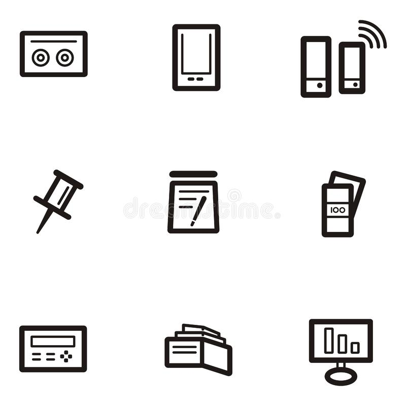 Plain Icon Series - Business Free Stock Image