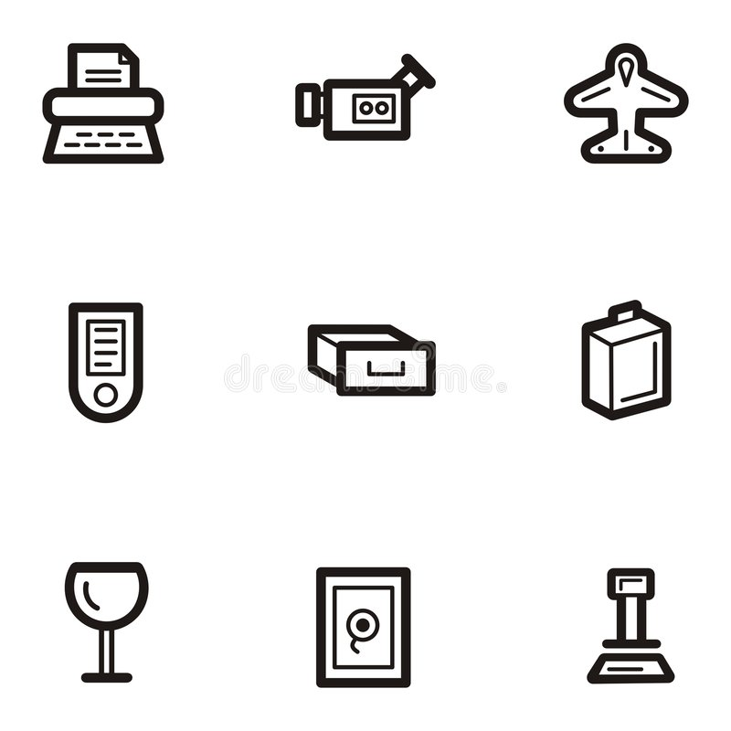 Plain Icon Series - Business Stock Photography