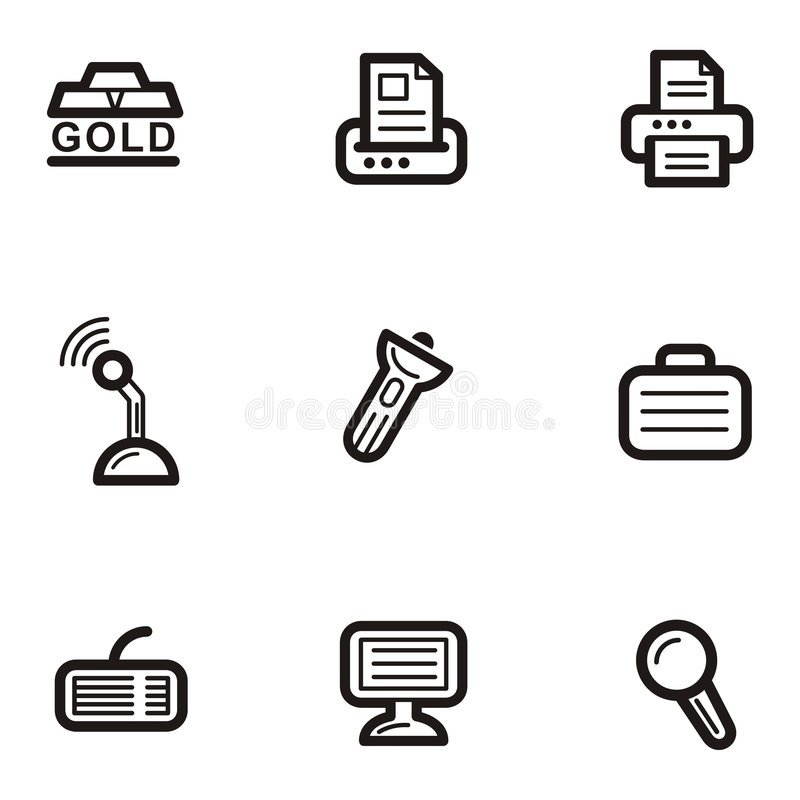Download Plain Icon Series - Business Stock Vector - Image: 1961161
