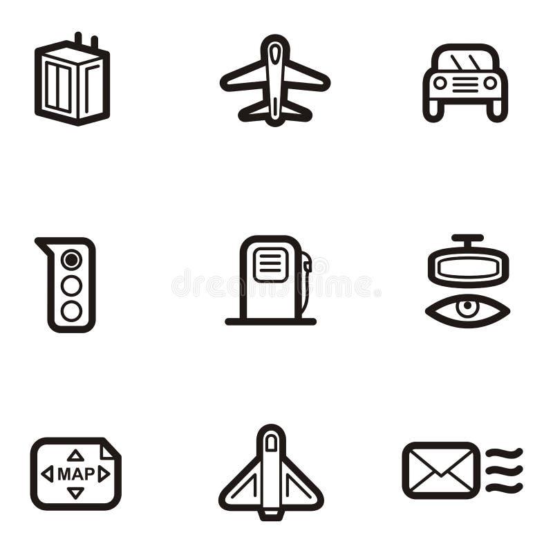 Download Plain Icon Series - Transportation Stock Illustration - Illustration: 1960988