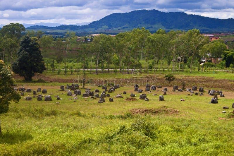Plain of Jars. Phonsavan, Laos royalty free stock photography