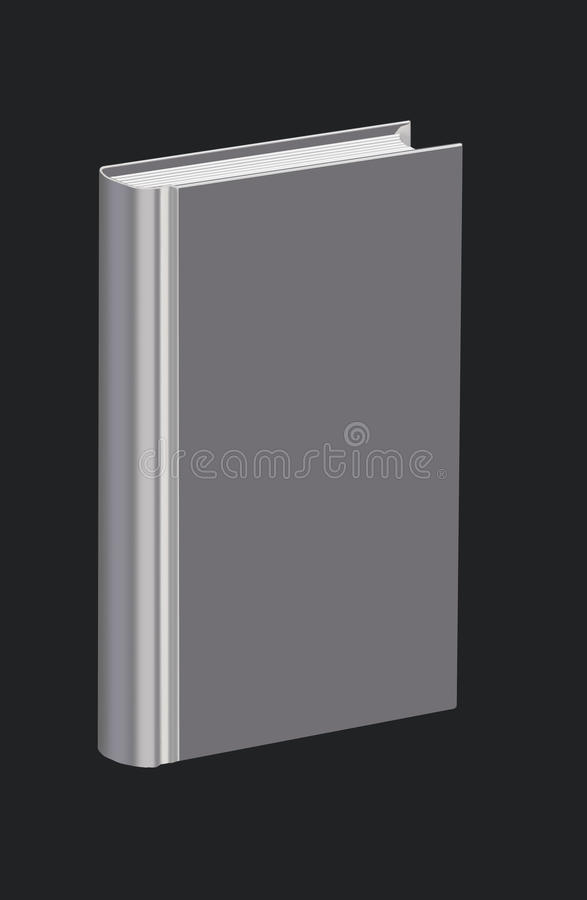 Free Plain, Metalized Book Isolated On Black Background Stock Images - 18869484