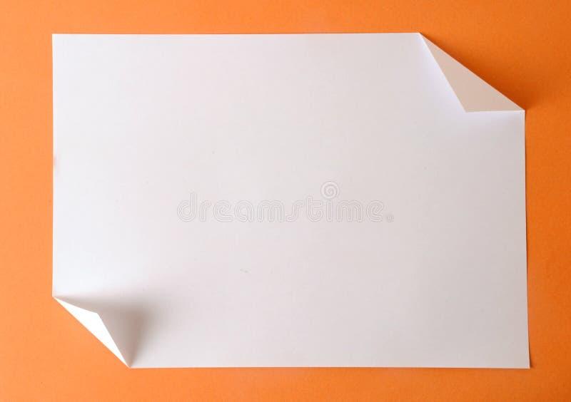 Plain paper royalty free stock photo