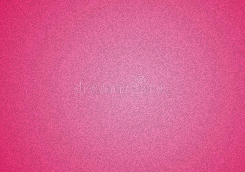 Plain pink textured background with gradient. Plain pink textured background with pink gradient for wallpaper, image or text layering stock photography