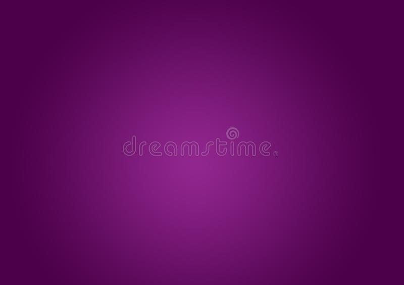 Plain purple background with gradient royalty free stock photography