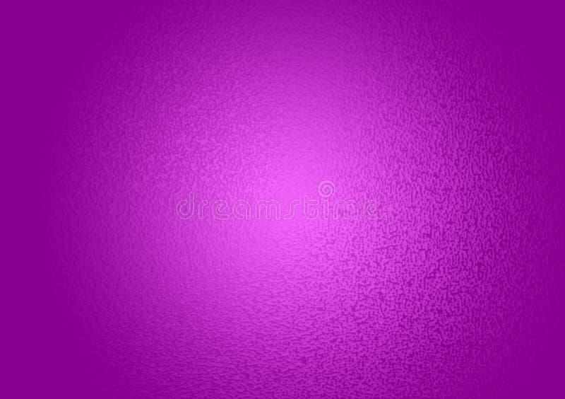 Plain purple textured gradient background stock illustration