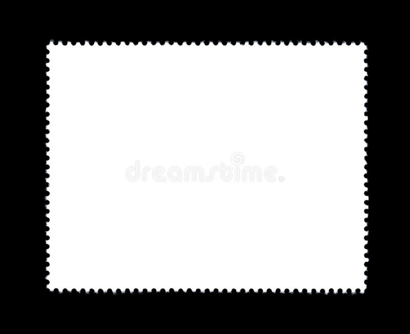 Plain stamp royalty free stock photos