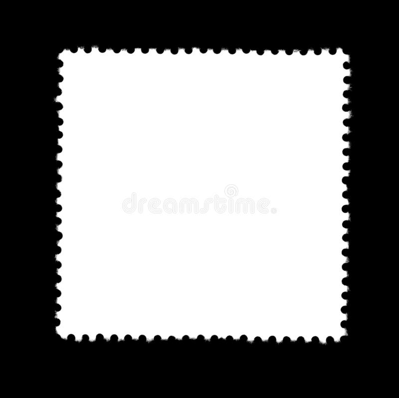 Plain stamp royalty free stock photo