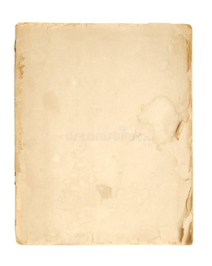 Plain vintage paper texture royalty free illustration