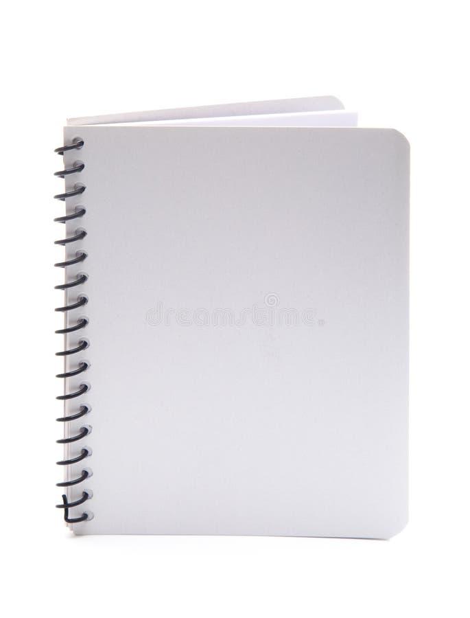 Plain White Notebook royalty free stock image