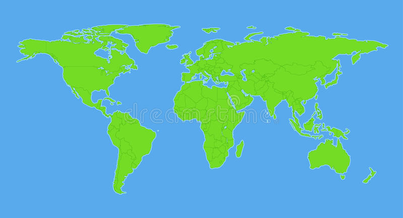 World map plain pertamini world map plain sciox Choice Image