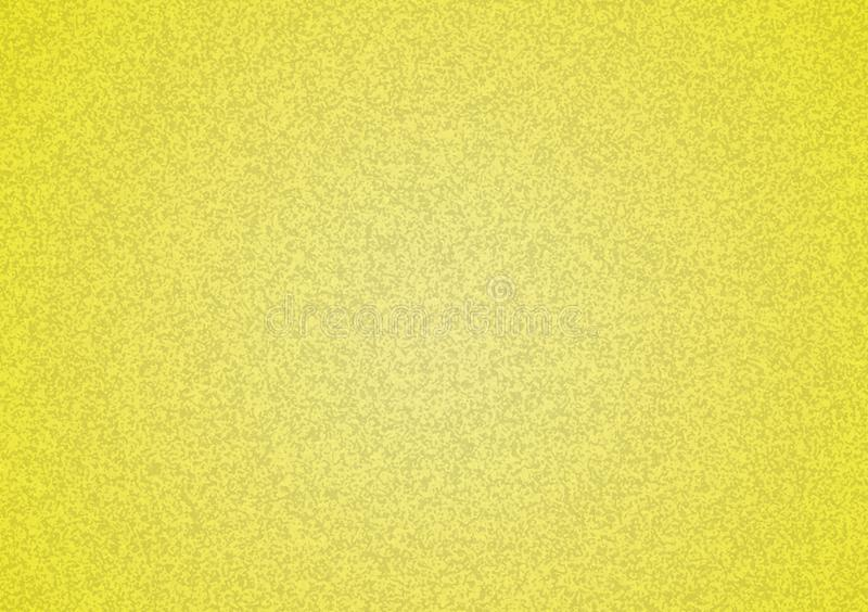 Plain yellow textured background with gradient royalty free stock photography