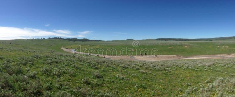 Plaines du Wyoming photographie stock