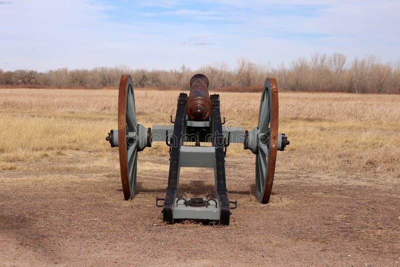 Plaines entourant le site historique national plié de vieux fort du ` s images libres de droits