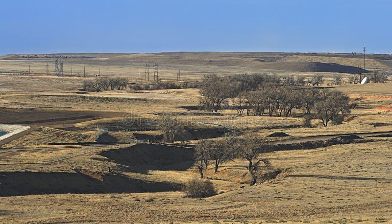 Plaines orientales du Colorado images libres de droits
