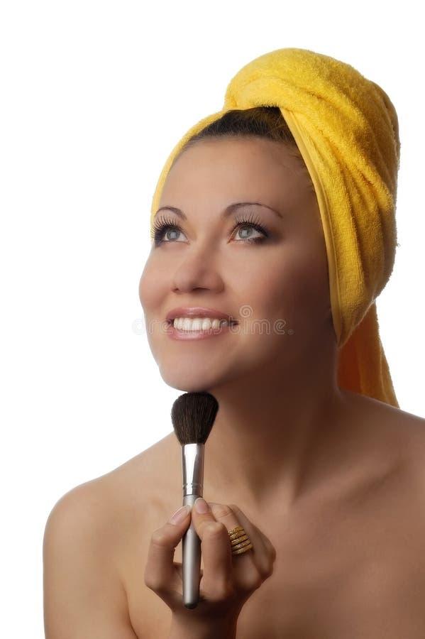 Plaisir cosmétique photo stock