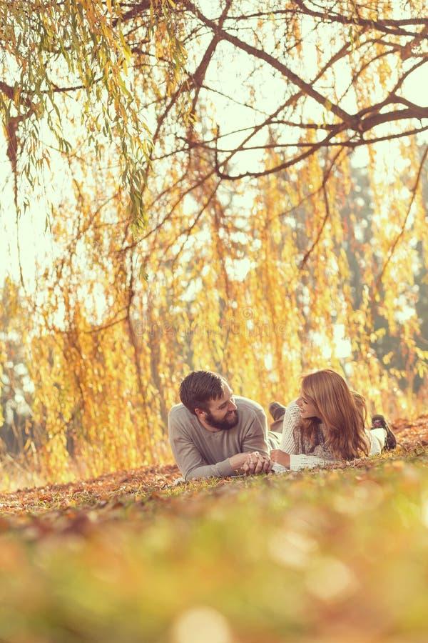 Plaisir d'automne photo stock
