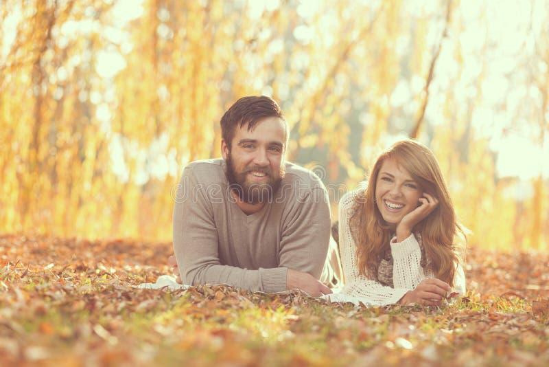 Plaisir d'automne photos stock