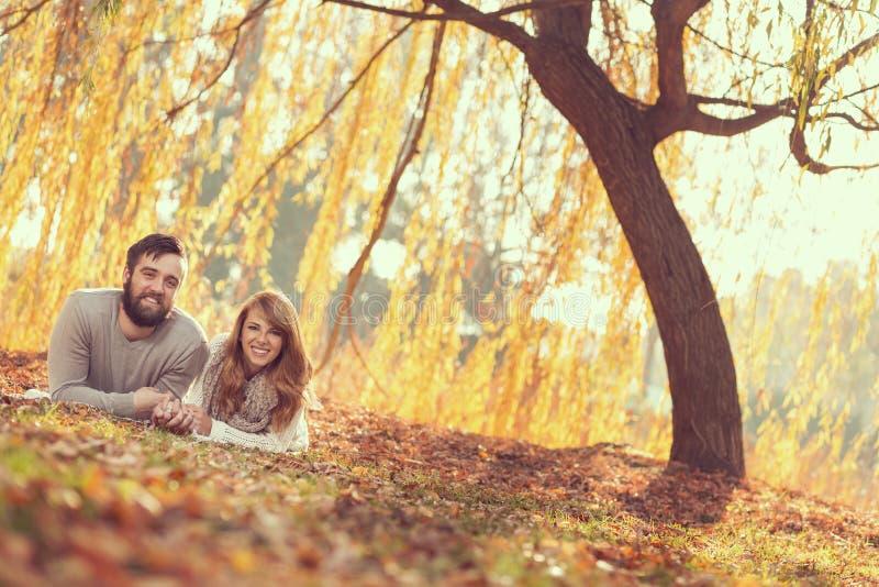 Plaisir d'automne images stock