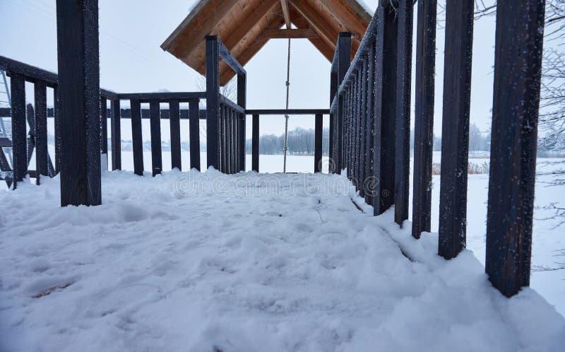 Plaisirs d'hiver photos stock