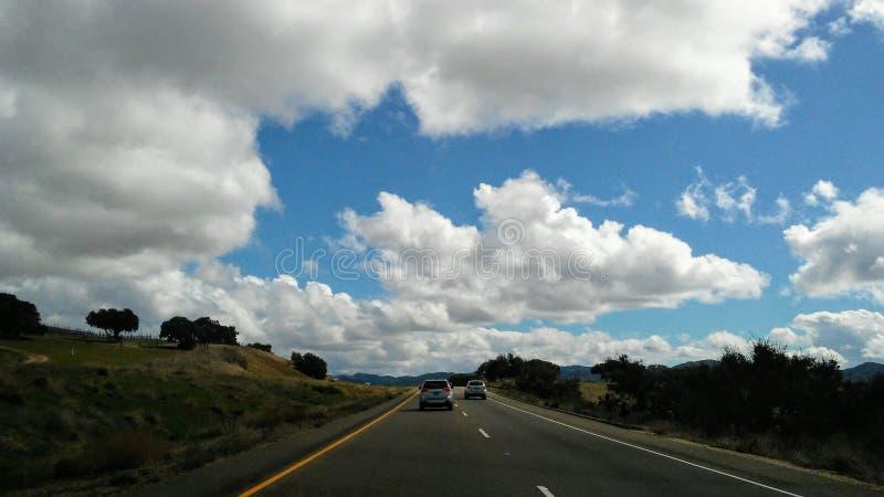 Plaisirs paisibles sur la route image stock