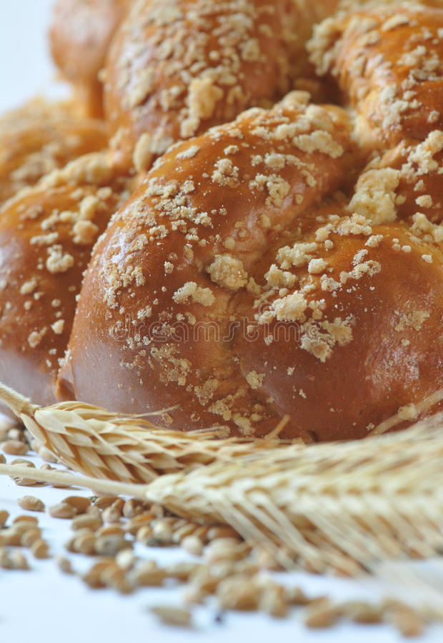 Download Plaited loaf - sweet roll stock image. Image of tasty - 28399349
