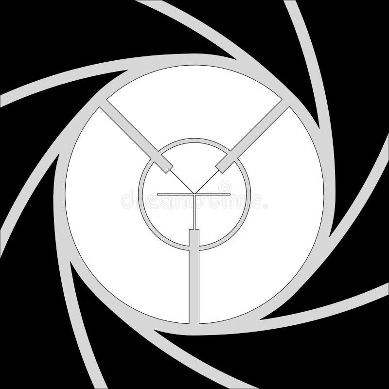 Plak gezicht vector illustratie