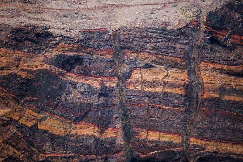 Plak van de korst van de aarde stock foto's