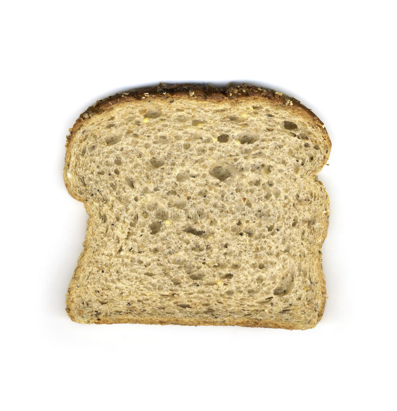 Plak van multi-korrelbrood royalty-vrije stock afbeelding