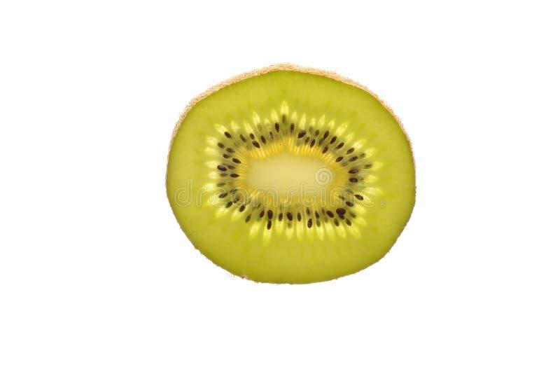 Plak van vers kiwifruit royalty-vrije stock afbeeldingen