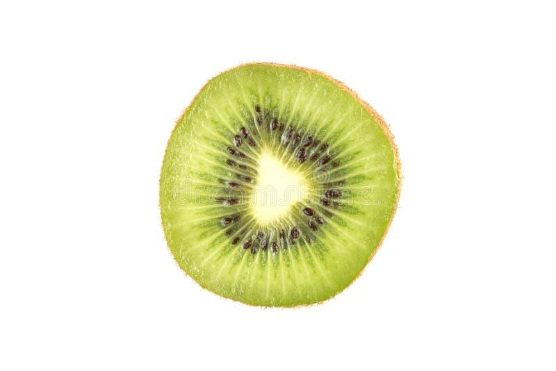 Plak van vers kiwifruit stock afbeeldingen