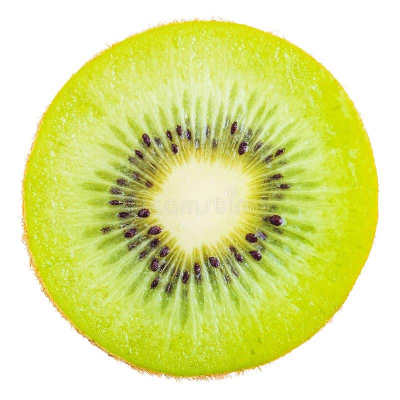 Plak van vers kiwifruit stock foto