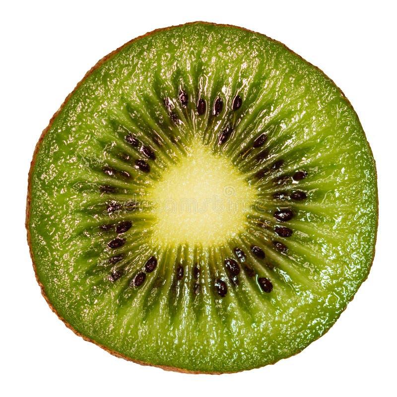 Plak van vers sappig kiwifruit stock foto's
