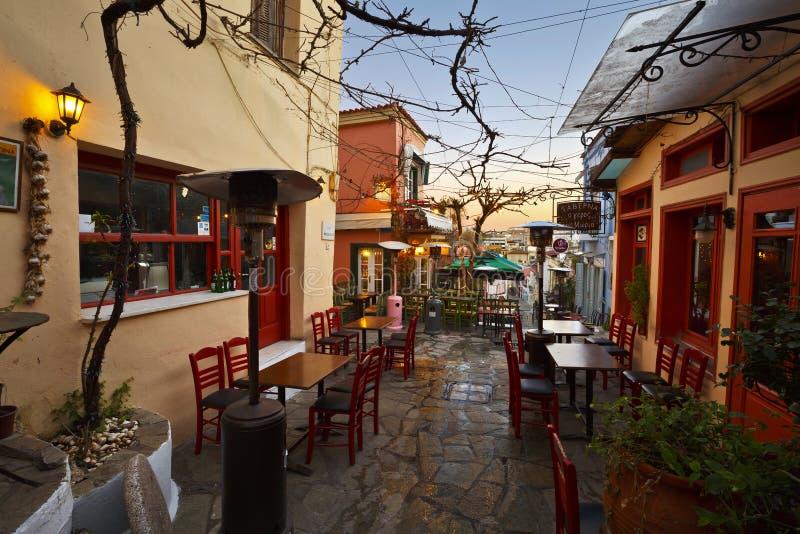 Plaka в Афинах, Греции стоковые фотографии rf