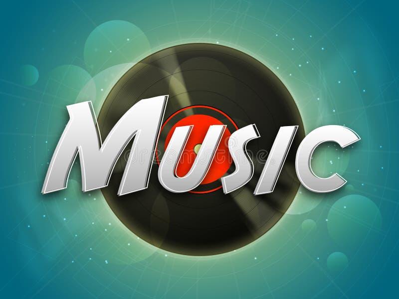 Download Plakat, Sztandar Lub Ulotka Dla Muzyki, Ilustracji - Ilustracja złożonej z rynek, nowożytny: 53778005