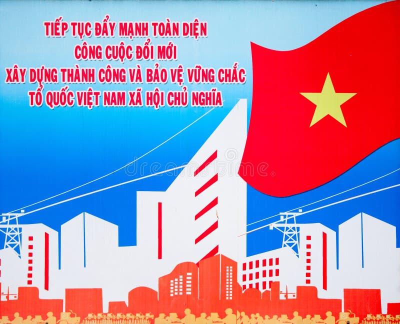 plakatowy Vietnam royalty ilustracja